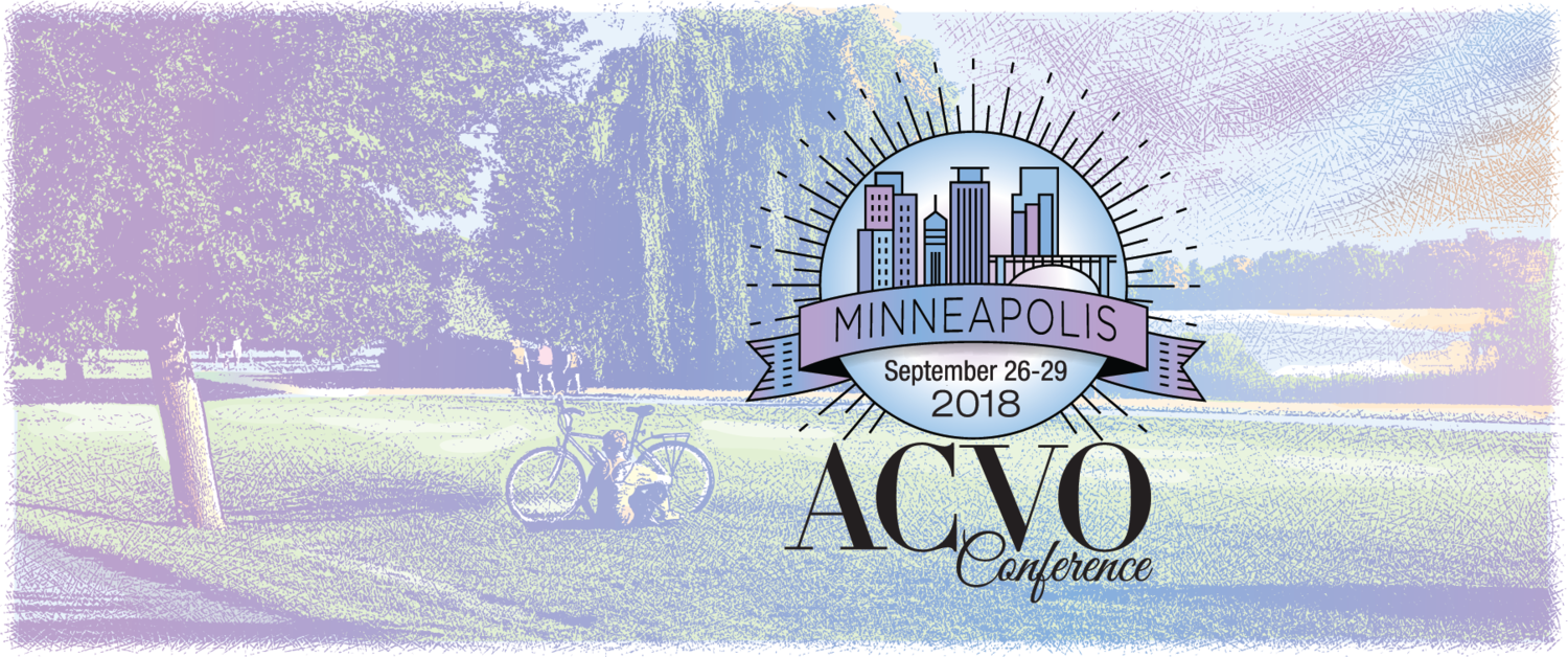 49th Annual Conference of the ACVO, Minneapolis, MN September 26 – 29, 2018.