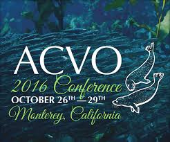 47th Annual Meeting of the ACVO, Monterey – CA October 26-29, 2016