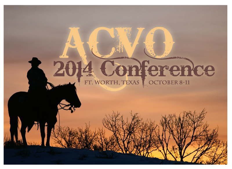 45th Annual Meeting of the ACVO, Fort Worth, TX, USA, October 8-11, 2014