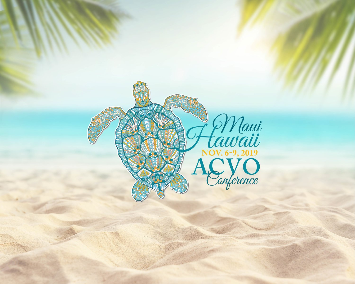50th Annual Meeting ACVO, Maui, Hawaii, Nov 6-9, 2019